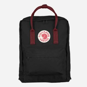 Plecak Fjallraven Kanken Black-Ox Red
