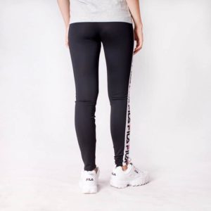 Spodnie Fila Holly Leggins Black