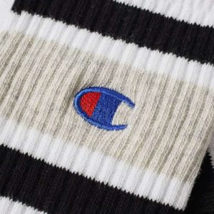 Skarpetki Champion 1pp Crew Socks white/black
