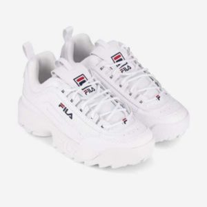 Buty Fila Disruptor low wmn White