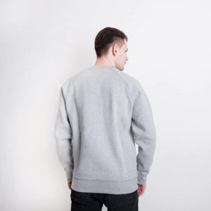 Bluza Carhartt WIP Chase Sweat Grey Heather Gold