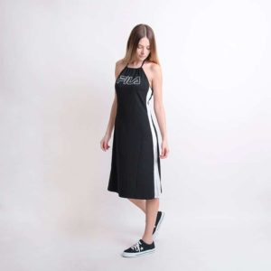 Sukienka Fila Amina Neckholder Dress Black