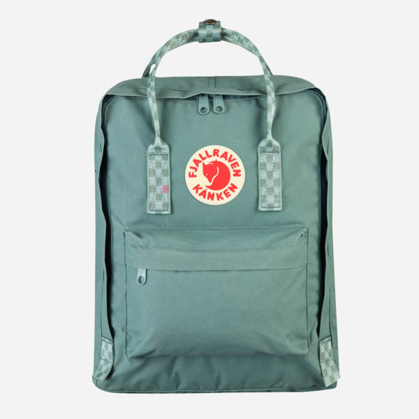 Plecak Fjallraven Kanken Frost Green/Chess Pattern