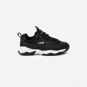 Buty Fila Ray Black White Wmn
