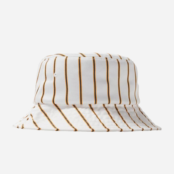 Czapka Stussy Bucket Big Logo Striped Bucket