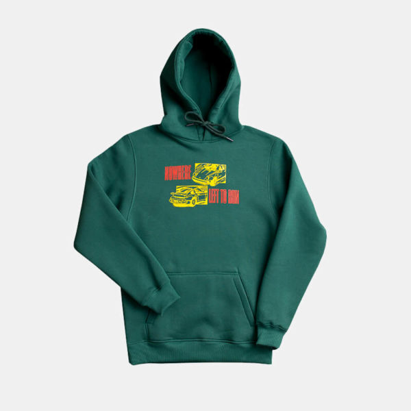 Bluza House Of Banks 911 Hoodie Bottle Green