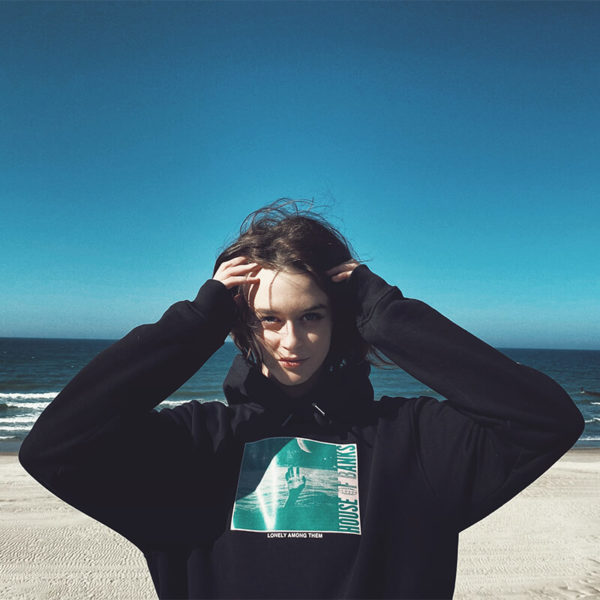 Bluza House Of Banks Lonely Hoodie Black