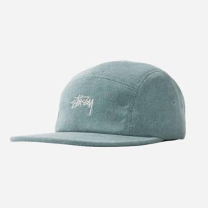 Czapka Stussy Stock Washed Canvas Cap Green