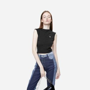 Top Neige Cut Out Tank Top