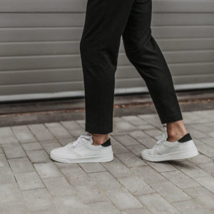 Buty Fieno Low Trainer White Black