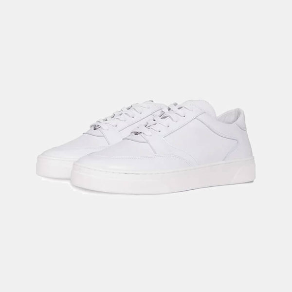 Buty Fieno Low Trainer White