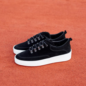 Buty Fieno Low Wes Suede Black