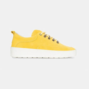 Buty Fieno Low Wes Suede Yellow