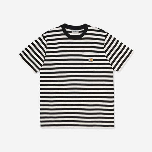 Koszulka Carhartt WIP Scotty Pocket T-Shirt Black White