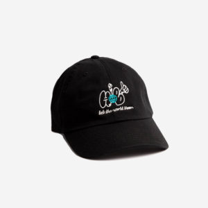Czapka House Of Banks Bloom Dad Hat Black
