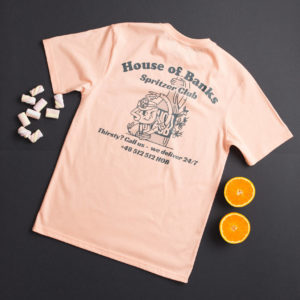 Koszulka House Of Banks Spritzer Club Peach Tee