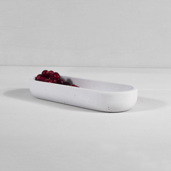 Design ZOA Concept Oblong Tray Gray