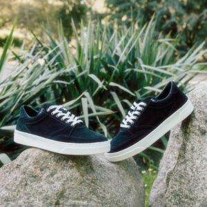 Buty Fieno Low Trainer Suede Black